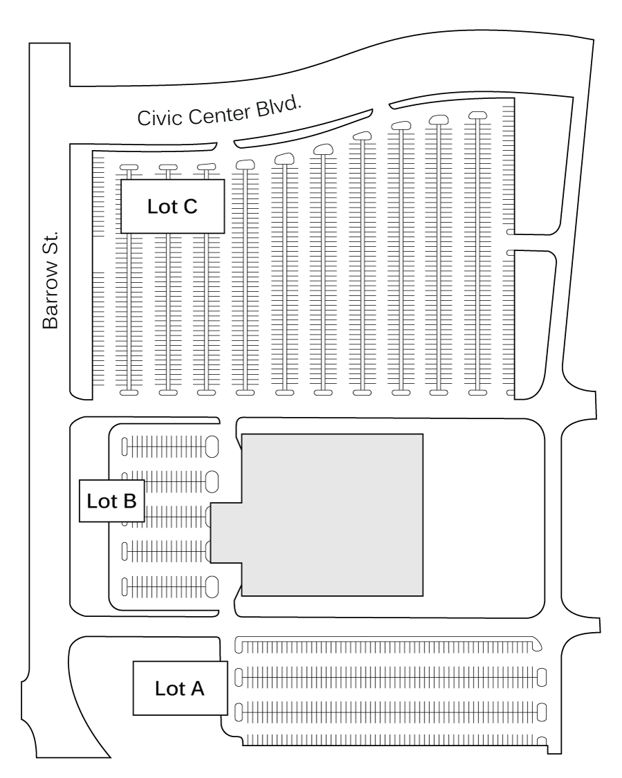 floor plan and room specs   houma terrebonne civic centerparking lot diagram