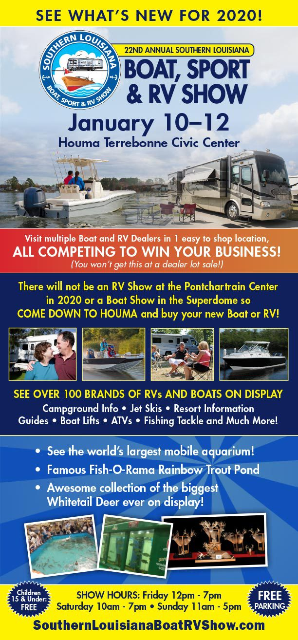 BOAT SHOW FLYER