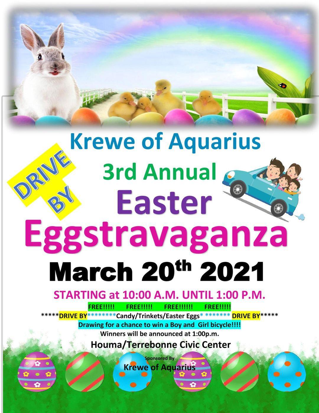 Easter Eggstravaganza Flyer