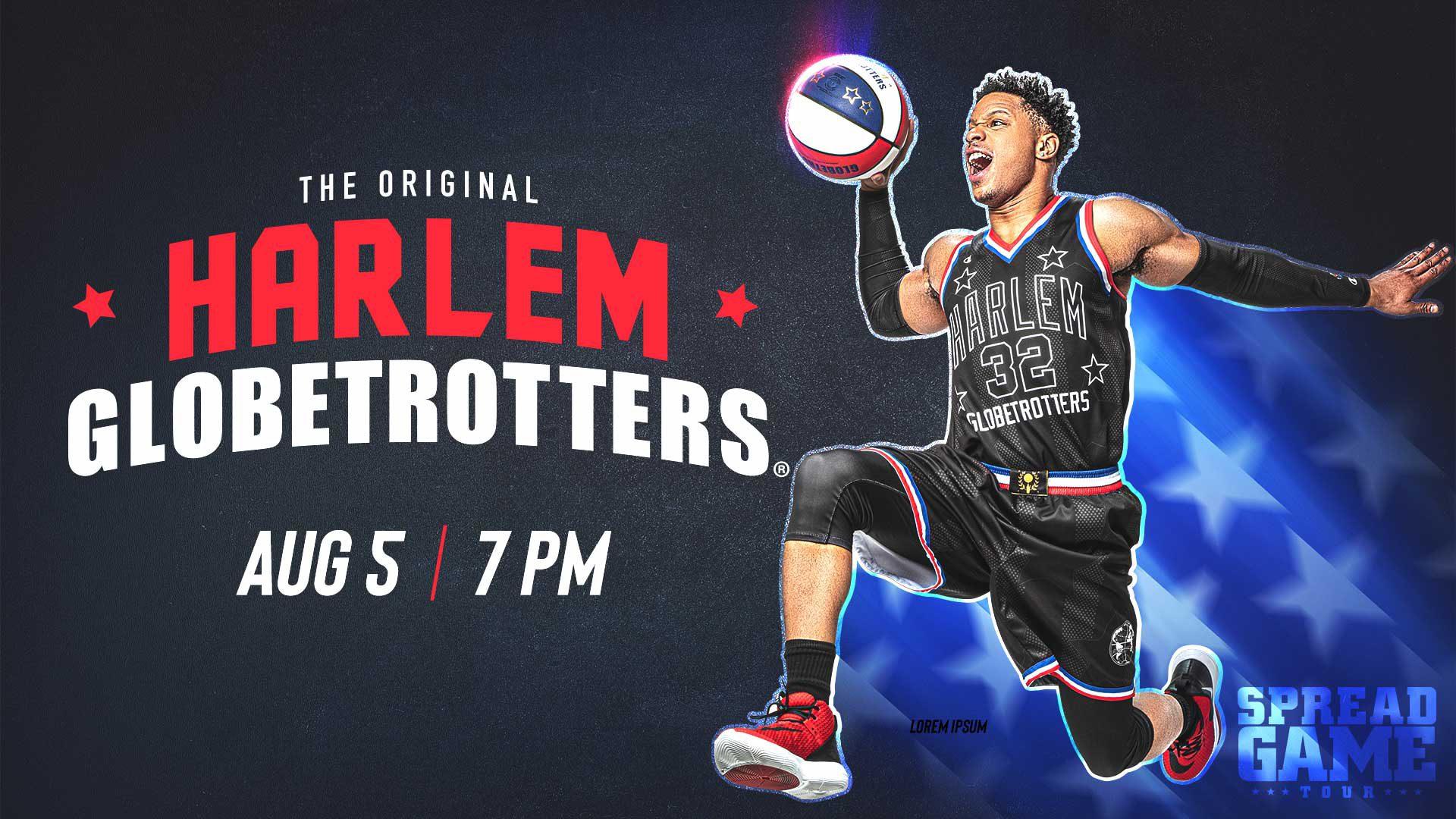 Harlem Globetrotters - August 5 - 7 PM