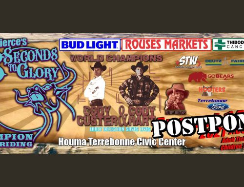 8 Seconds to Glory Champion Bull Riding Postponed
