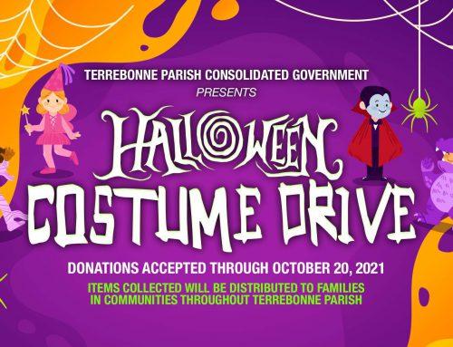 Halloween Costume Drive for Survivors of Hurricane Ida